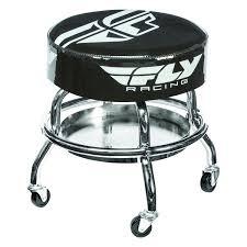 fly bar stool fly racing mechanics bar stool revzilla