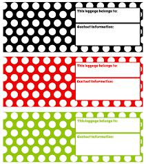 printable luggage tags digi freebies pinterest printable