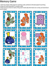 free finding nemo dory printable play money disney