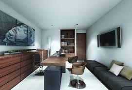 Exclusive Home Interiors Home Office Interior Contemporary Office Interior Design
