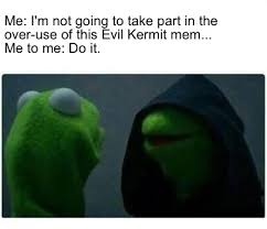 What Font Do Memes Use - meme creator evil kermit meme generator at memecreator org
