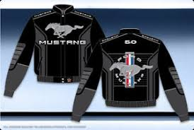 ford mustang jacket ford mustang jacket black twill pony gray embroidered logo mustang