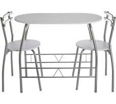 argos kitchen furniture buy home vegas dining table 2 chairs white at argos co uk