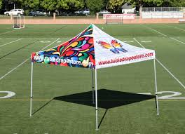 Custom Printed Canopy Tents by Outdoors Marketing The Table Drape Store Custom Printed