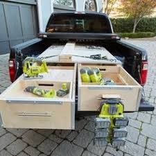 Slide Out Truck Bed Tool Boxes Truck Bed Slide Out Carpentry Contractor Talk Transit