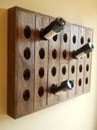 ideas wine rack wall wine bottle and glass wall rack pottery