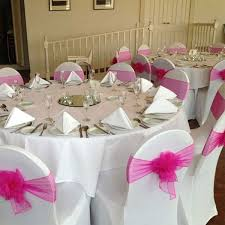 Pink Chair Covers Chair Covers Spun Poly White Banquet Chair Covers