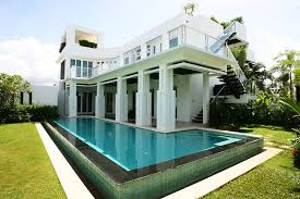 houses with 4 bedrooms 4 bedroom modern styled property for rent in pattaya jomtien