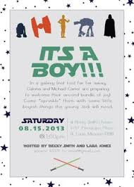 wars baby shower ideas wars baby shower invites kawaiitheo