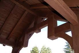 Timber Frame Pergola by Timber Frame Pergola Or Pavilion Kit Expanding Your Living
