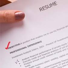 Resume Writing Tips Objective the objective of your r礬sum礬