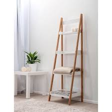 Narrow Leaning Bookcase by Ladder Shelf Ikea Decorating Narrow Bookshelf Ladder Bookcase