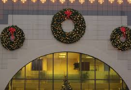 outdoor lighted christmas wreaths u2013 home design and decorating