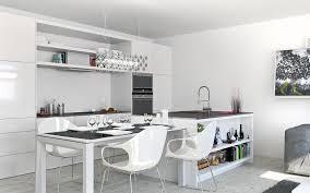 unique white modern kitchen table with kitchen with modern white