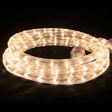 led flexbrite rope light set 9 ft warm white rope lights