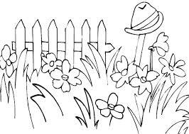 digging hole rose flower garden coloring pages color luna