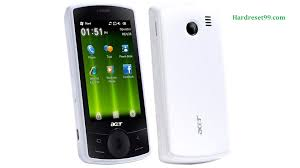 reset windows password phone acer e101 hard reset how to factory reset