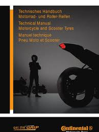 continental tyres technical manual tire motorcycling
