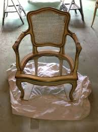 Reupholster Armchair Diy Diy Makeover Reupholstering And Repainting A French Country Chair