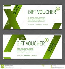 corporate gift card gift voucher coupon and voucher template for company corporate