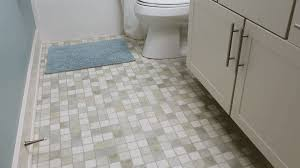 how to clean a bathroom floor