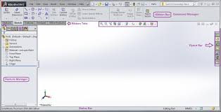 introduction to solidworks user interface cadoasis