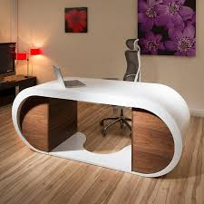 White Gloss Office Furniture by Large Modern Desk Furniture Large Modern Desk For Ideal