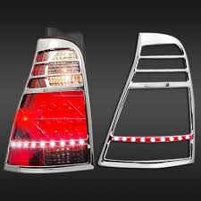 2003 toyota 4runner tail light toyota 4runner 2003 2009 chrome tail light bezel with led