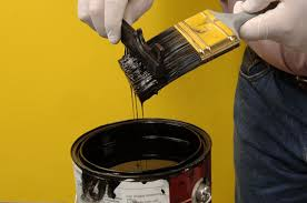 what should i use to clean my painted kitchen cabinets how to clean paint from paint brushes dummies