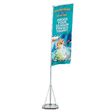 Standing Flag Banners Creative Banner