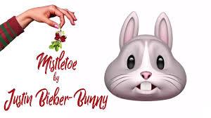 justin bieber easter mistletoe by justin bieber bunny animoji karaoke