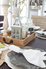 Farmhouse Dining Room Table by Dining Room Update A Coastal Farmhouse Table Setting Table And