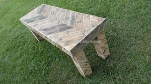Wooden Pallet Bench Pallet Bench Wood Pallet Furniture