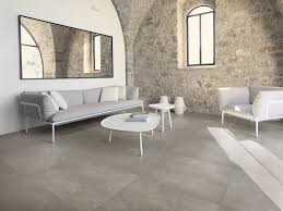 ceramic flooring with stone effect poesia by ceramiche refin