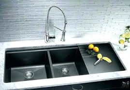 black faucet with stainless steel sink black stainless steel sink ivanlovatt com