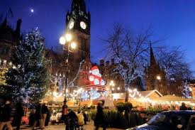 Christmas Party Nights Manchester - more than 200 000 to hit manchester city centre in 6 5m u0027mad