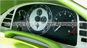 mustang custom gauges black cat custom automotive faces for all makes and models