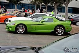 Dodge Viper Lime Green - cars u0026 coffee u002708 rewind secret entourage