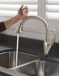 leland delta kitchen faucet awesome touch free kitchen faucet modern house ideas and gorgeous