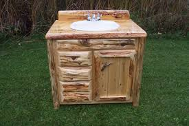creative western bathroom vanities design reclaimed wood vanity