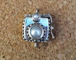 sterling silver necklace clasp images Bali silver necklace etsy jpg