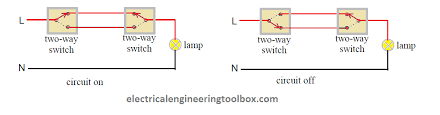how to wire a two way switch learning electrical engineering