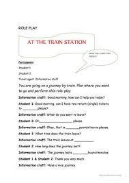 89 free esl train worksheets