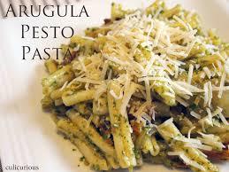 Pasta Recipes Arugula Pesto Pasta Recipe Culicurious
