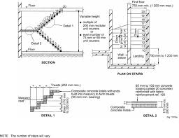 Stair Handrail Requirements 4 3 Stairs And Ramps Staircase Handrail Height Image Residential