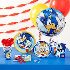 sonic the hedgehog party supplies sonic the hedgehog the ultimate party store the largest party
