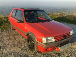 peugeot 205 used 1989 peugeot 205 gti for sale in cornwall pistonheads