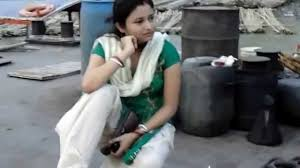 cute siting river side she is actress in our village youtube