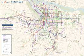 Portland Streetcar Map by Portland Subway Map My Blog