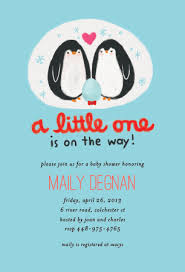 penguin baby shower penguin family animal baby shower invitation oubly flickr